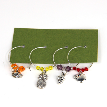 Picture of Wine Glass Charms 659