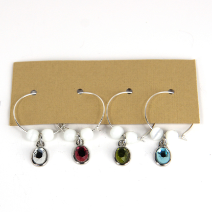 Picture of Wine Glass Charms 666